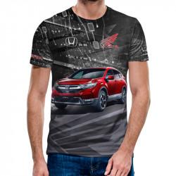 3D мъжка тениска Honda CRV
