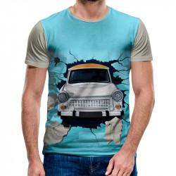 3D мъжка тениска 4774 + подарък надпис