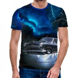 3D мъжка тениска 4842 + подарък надпис