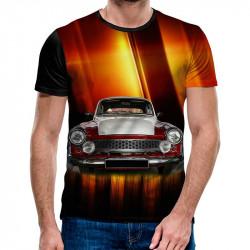 3D мъжка тениска 4843 + подарък надпис