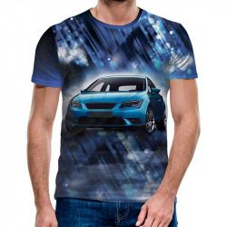 3D мъжка тениска 4850 + подарък надпис