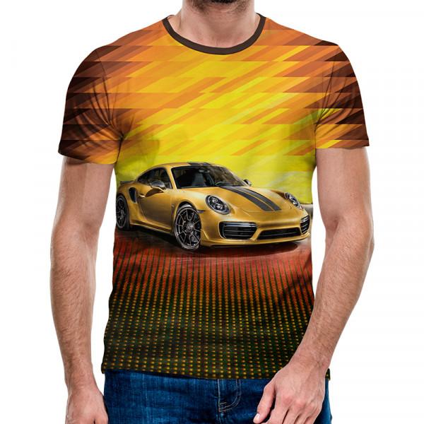 3D мъжка тениска 4952 + подарък надпис