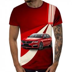 3D мъжка тениска 5248 + подарък надпис