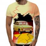 3D мъжка тениска 5354 + подарък надпис