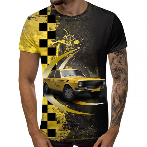 3D мъжка тениска 5502 + подарък надпис