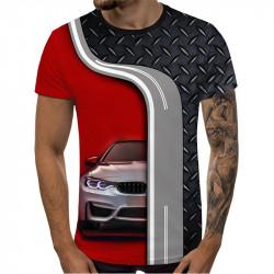 3D мъжка тениска принт 6089