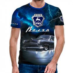 3D мъжка тениска Volga