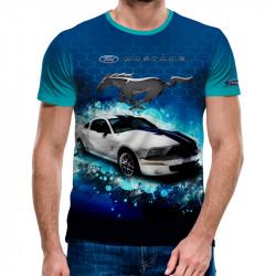 3D мъжка тениска FORD MUSTANG