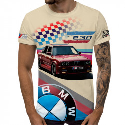 3D мъжка тениска Bmw E30