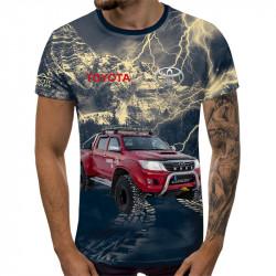 3D мъжка тениска Toyota Hilux