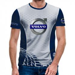 3D мъжка тениска VOLVO BLU