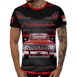 3D мъжка тениска Classic Moskvich