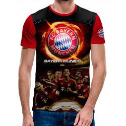 3D мъжка тениска Bayern Munchen