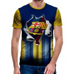 3D мъжка тениска Barcelona