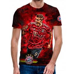 3D мъжка тениска FC Bayern Munchen