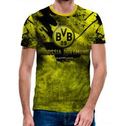3D мъжка тениска Borussia Dortmund