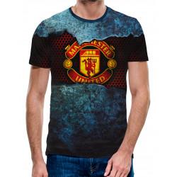 3D мъжка тениска Glory, Glory Man United