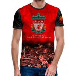 3D мъжка тениска Liverpool