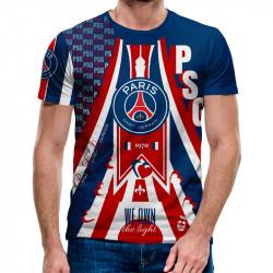 3D мъжка тениска PSG