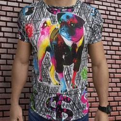 3D  мъжка тениска Rich