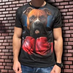 3D  мъжка тениска Boxer
