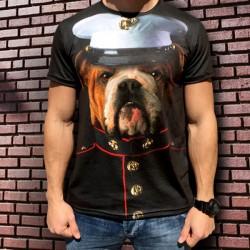 3D мъжка тениска Doggy