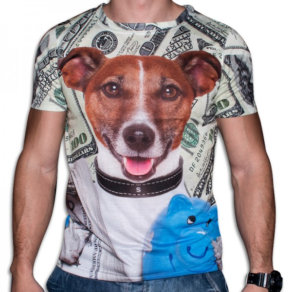 3D  мъжка тениска Mylo