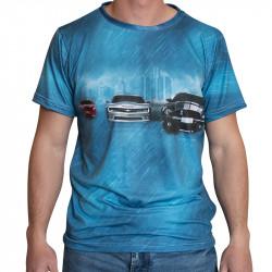 3D мъжка тениска 2555