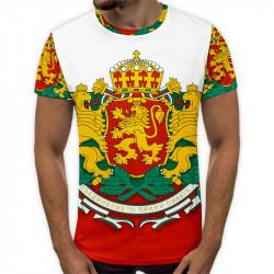 3D мъжка тениска  Bulgarion Lions