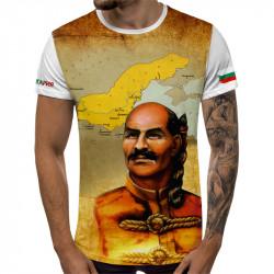 3D мъжка тениска Хан Аспарух