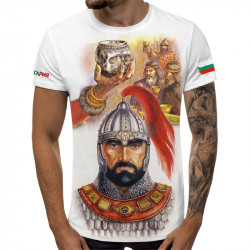 3D мъжка тениска Хан Крум
