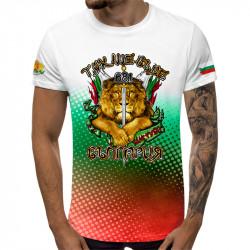 3D мъжка тениска Гербът на България