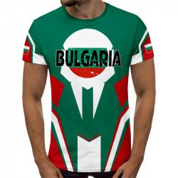 3D мъжка тениска принт Българска сила