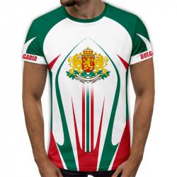 3D мъжка тениска принт Българска земя