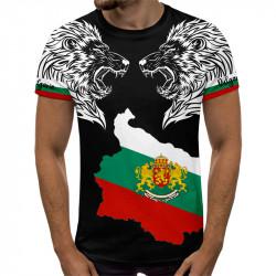 3D мъжка тениска принт ЛЪВОВЕ