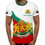 3D мъжка тениска принт национална 7756