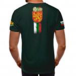 3D мъжка тениска принт национална Герб