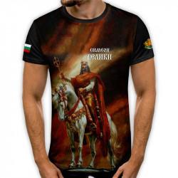 3D мъжка тениска принт национална Симеон Велики