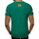 3D мъжка тениска принт национална България герб
