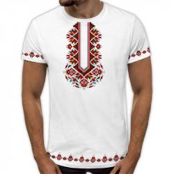 3D мъжка тениска принт Плетеница на щастието