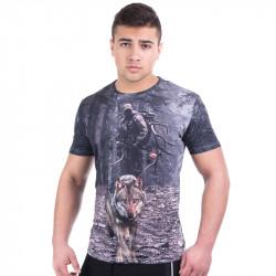 3D мъжка тениска HUNT