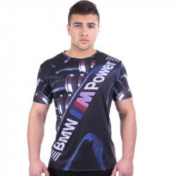 3D мъжка тениска BMW POWER