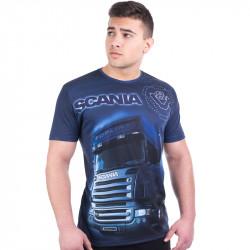 3D мъжка тениска SCANIA