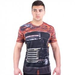 3D мъжка тениска SCANIA 2
