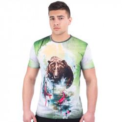 3D мъжка тениска BEAR