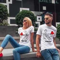 Комплект тениски за влюбени двойки AMO