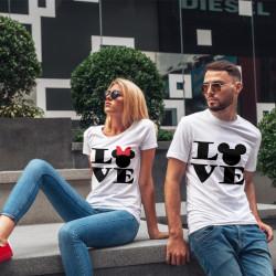 Комплект тениски за влюбени двойки LOVE MAUS
