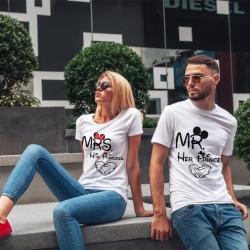 Комплект тениски за влюбени двойки MRS-MR