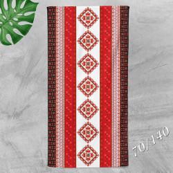 Хавлиена кърпа с народни мотиви 7571