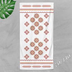 Хавлиена кърпа с народни мотиви 7574
